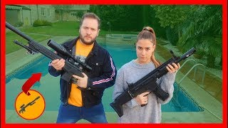 Duel COUPLES with FRANCOFORT in real life! - With Tobbalink & FatiVazquez MrBeat