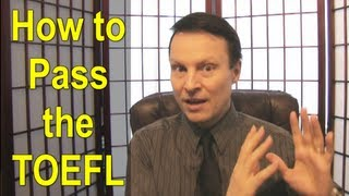 How to pass the TOEFL Speaking - Learn English with Steve Ford Test Prep 20