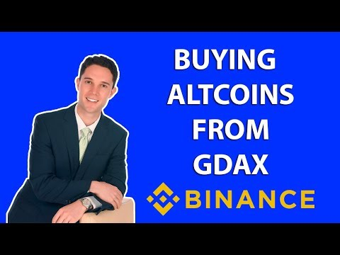 How to Buy Altcoins on Binance (EOS) From GDAX