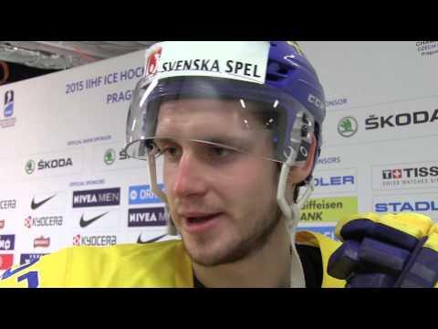 Oliver Ekman-Larsson po výhře nad Francií 4:2