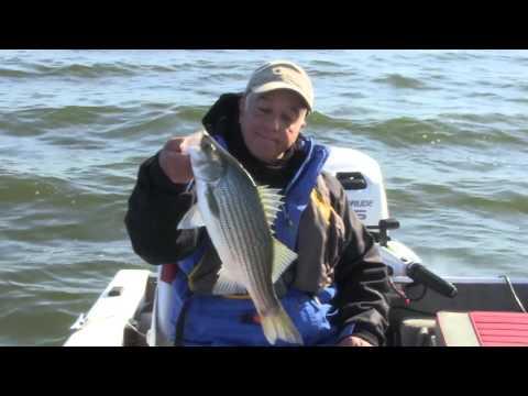 Structure fishing s2e1 heidecke lake hybrid strippers for Heidecke lake fishing report