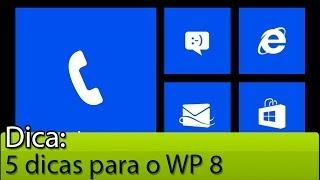 5 dicas para o Windows Phone 8 | Tudocelular.com(Listamos 5 recursos (dicas) que você pode não conhecer e que existem no Windows Phone 8 - utilizamos um Lumia 1020 para o vídeo, mas as dicas ..., 2013-10-12T19:29:19.000Z)