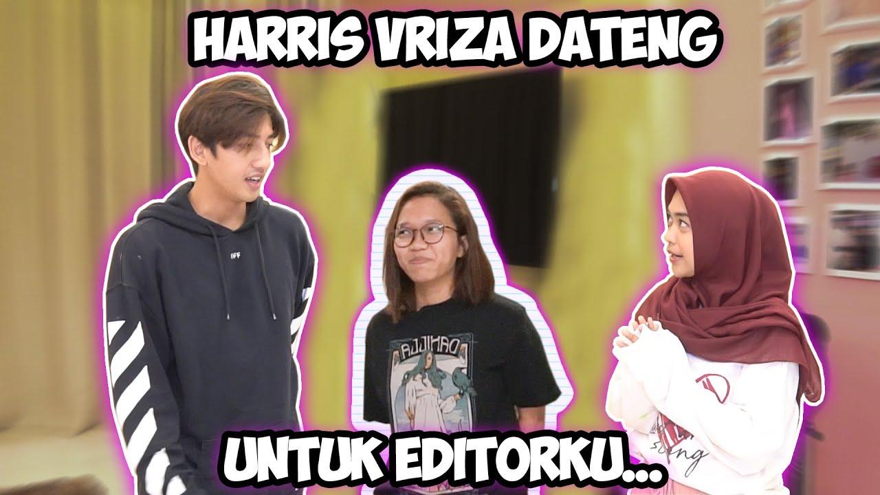 HARRIS VRIZA DATANG UNTUK SURPRISE EDITORKU.. Ciee Romantiss II @Harrisvriza Entertainment