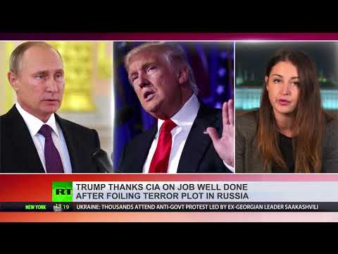 Putin thanks Trump and CIA for info that helped prevent terror attack
