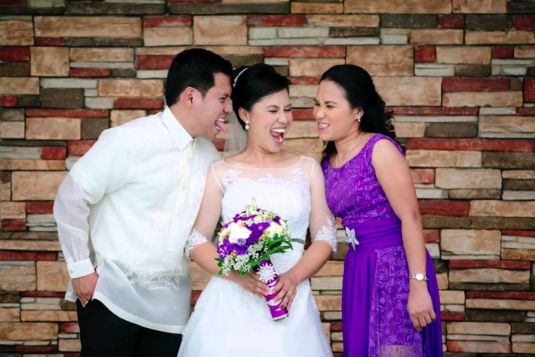 Ian & Nerry Wedding (On Site Slideshow by: Ruffa and Mike ...