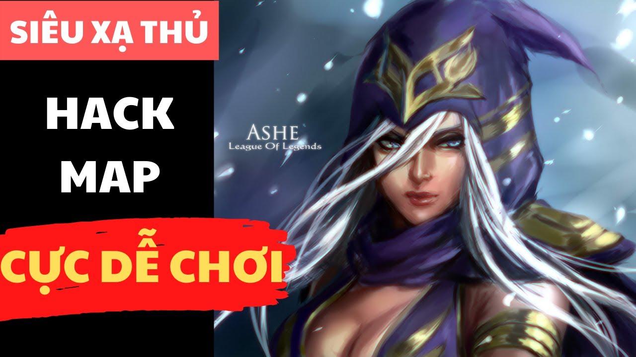 [LOL Mobile] Ashe : Hướng Dẫn Chơi Ashe Tốc Chiến – Bảng ngọc, Trang bị & Lối chơi chuẩn nhất
