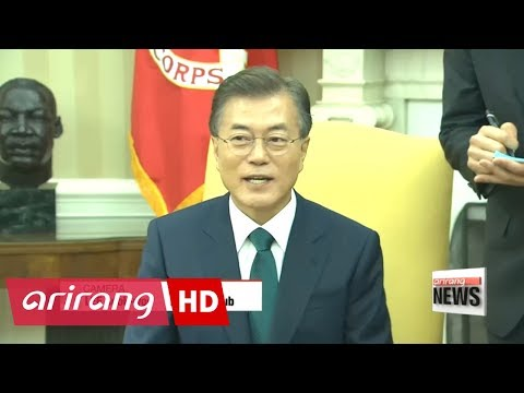 South Korean President to deliver first speech at UNGA... Moon, Trump summit ...