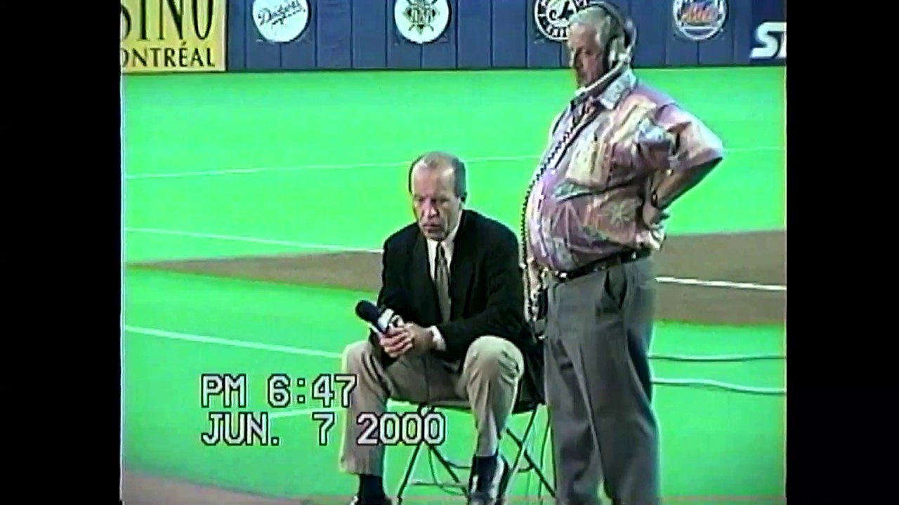 Expos - Yankees Raw Footage  6-7-00