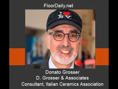 FloorDaily.net: Donato Grosser Discusses Factors Impacting the Growth of the Ceramic Tile Business