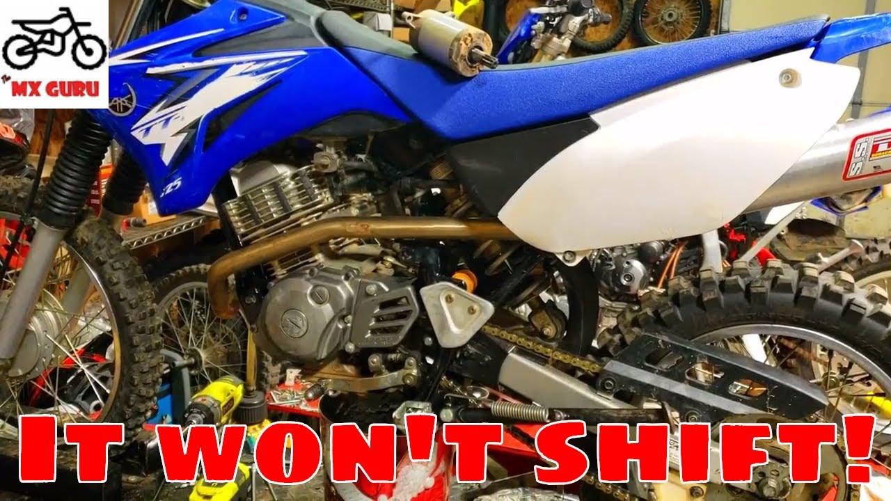 TTR125 Won't Shift Right?! Diagnosing Shifting Issue ! | SIMPLE FIX | 2009  Yamaha TTR125