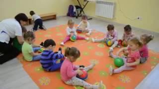 под муз. Е. Железновой гимнастика, частный детский сад