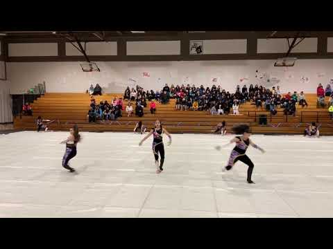 MIT Academy ColorGuard at 2019 Jesse Bethel Invitational