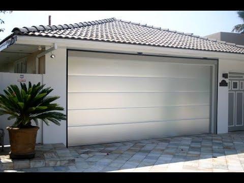 modern contemporary flush garage doors 16.1 r-value | 630 ...