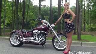 Used 2008 Harley Davidson Softail Rocker C Motorcycles For Sale *