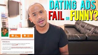 Funniest. Dating Ads. EVER (Part 1) | Alonzo Lerone