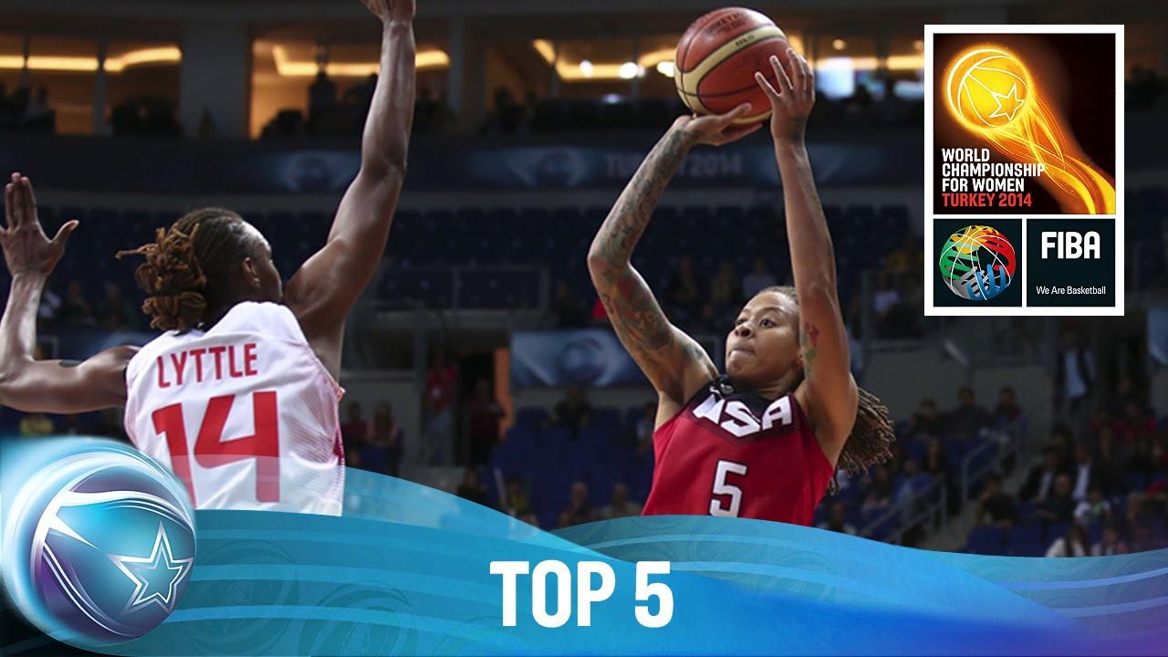 Top 5 - 5 October - 2014 FIBA World Championship for Women
