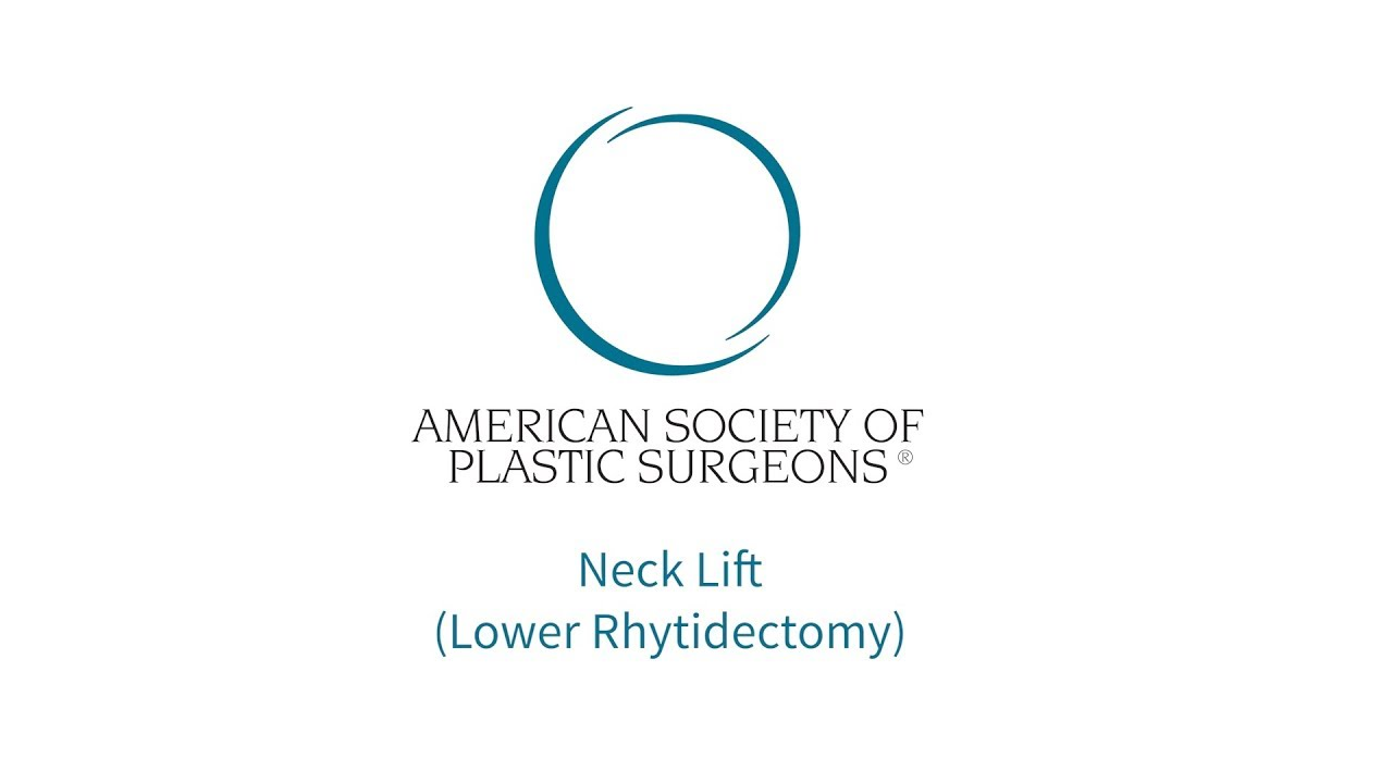 Neck Lift | American Society of Plastic Surgeons