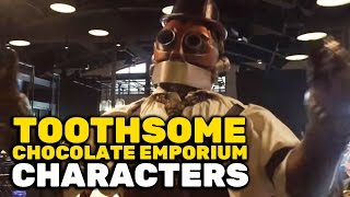Toothsome Chocolate Emporium: Professor Doctor Penelope Toothsome and her robot companion Jaques