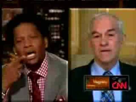 Ron Paul 2012 - Great Interview on  D L  Hughley 3-7-09  I hope he runs 2012!!! And WINS!