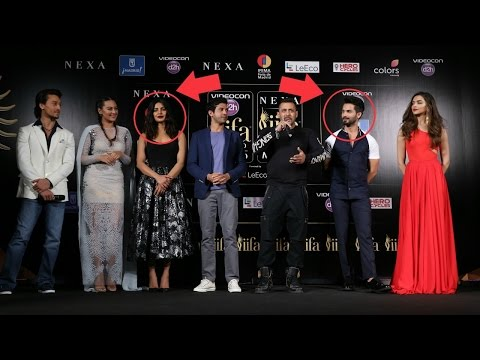 Priyanka Chopra IGNORES Shahid Kapoor On Stage At IIFA 2016 !!