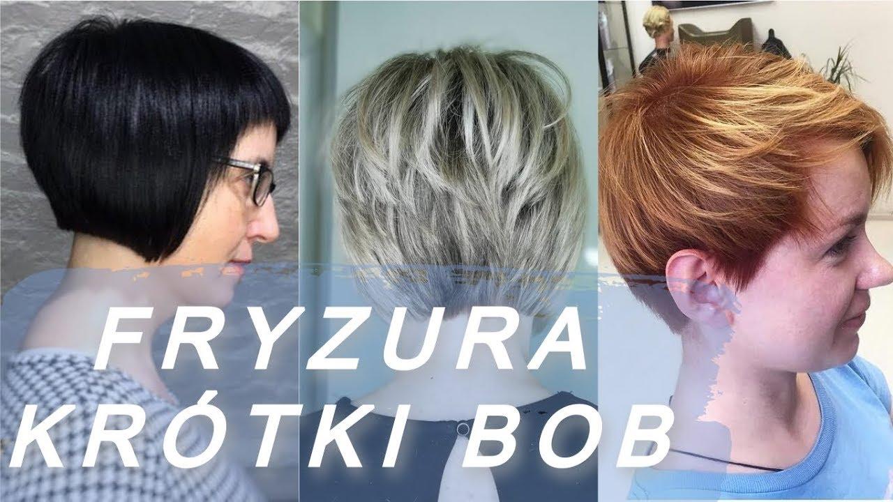 Niesamowite Pomysły Na Krótkie Fryzury Bob