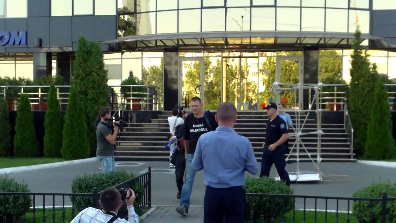 Protestele vizează și afacerile oligarhilor
