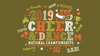 Pop Warner Cheerleading Championships (12/11/19) - Afternoon Session