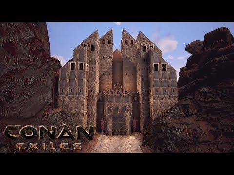 conan barracks how to build