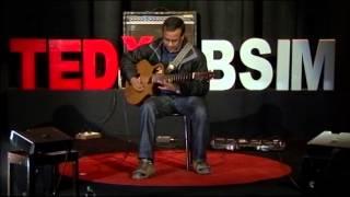 Breaking boundaries through music: Sushmit Sen at TEDxLBSIM