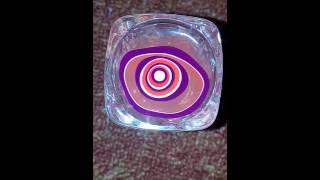 water marble nail art in hindi