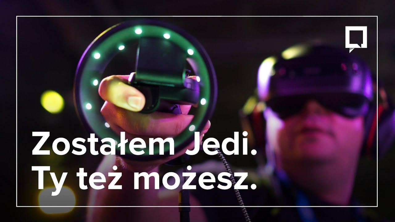 Zostałem JEDI w nowej grze Star Wars na Lenovo Mirage AR