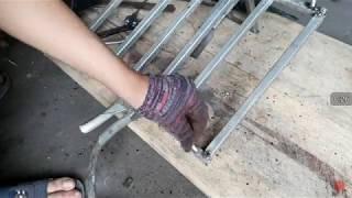 cách biến máy mài tay thành máy cắt bàn cắt cả góc