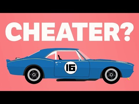The Cheating Penske Camaro