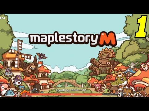 First Look - MapleStory M - Gameplay #1
