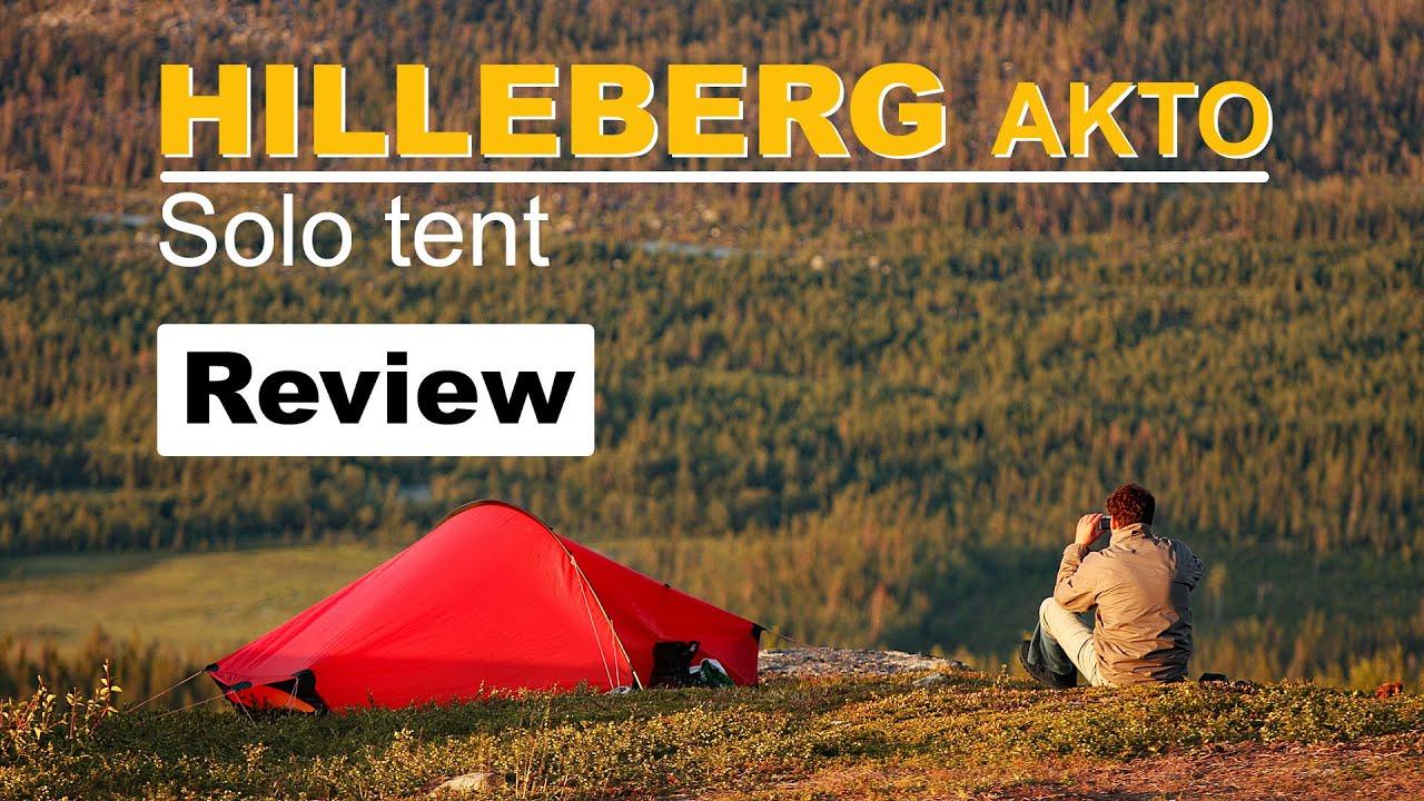 Hilleberg Akto, enmans tält testat – mattisblogg.se