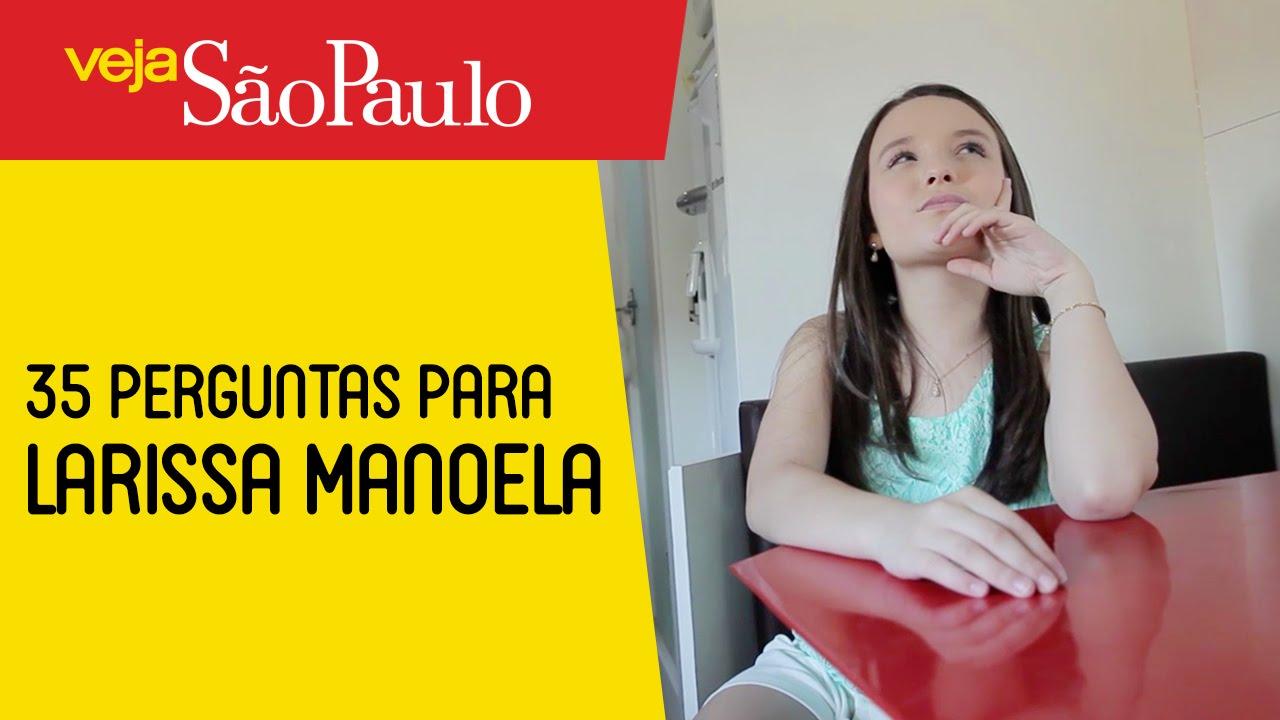35 perguntas para Larissa Manoela - YouTube 8e7965267c