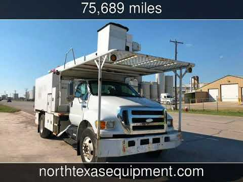 2007 Ford F750 FORESTRY BUCKET TRUCK XL Used Commercials - Fort Worth,TX - 2018-05-29
