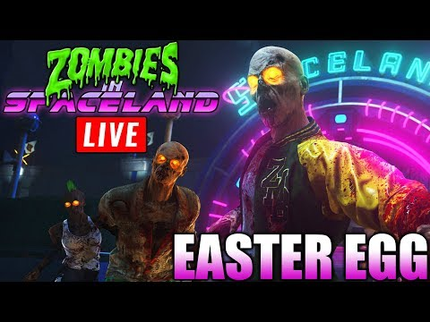 🔴 EASTER EGGS IW - ZOMBIES IN SPACELAND - Call Of Duty: Infinite Warfare - #SEGUNDONATEMLIVE