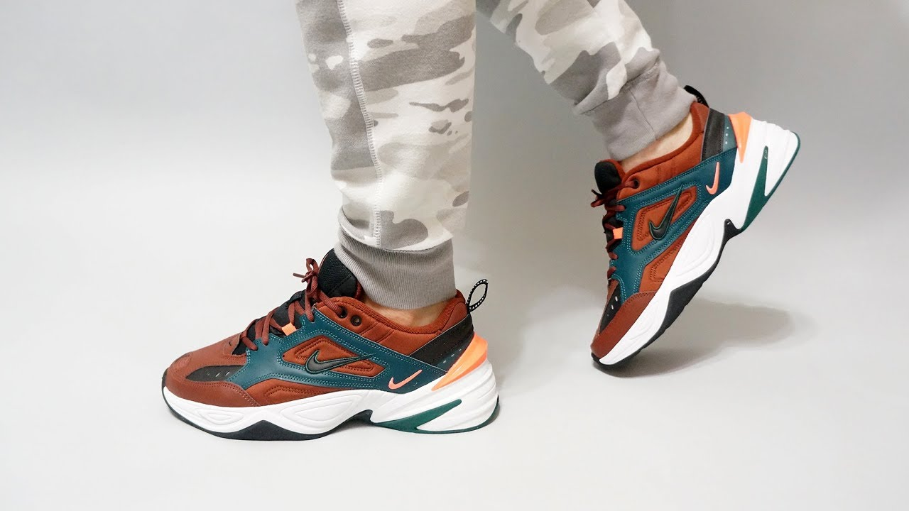 6ded22a0078 Nike M2K Tekno Pueblo Brown   Black - Rainforest AV4789-200 on feet ...