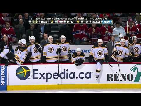 Bruins-Canadiens Game 3 Highlights 4/18/11 1080p HD