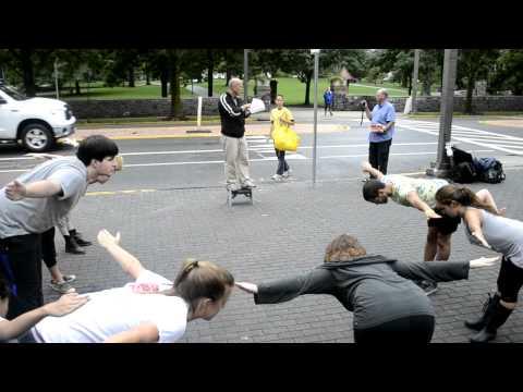 Preachers on Britton Plaza Part 2 - Dancer's Response