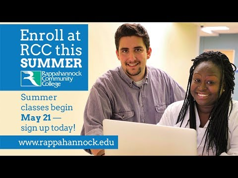 Summer 2018 with Rappahannock Community College