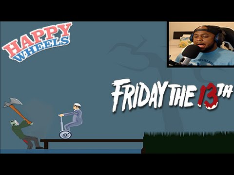 HAPPY WHEELS SCARIEST LEVEL EVER! (HILARIOUS)