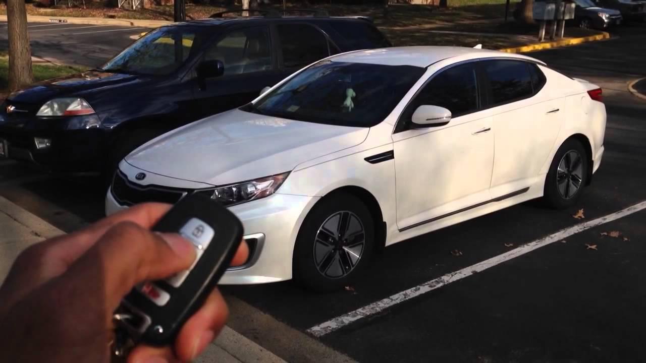 2012 Kia Optima Hybrid With EVO ONE Part 1   YouTube