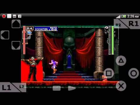 castlevania symphony of the night emulator download