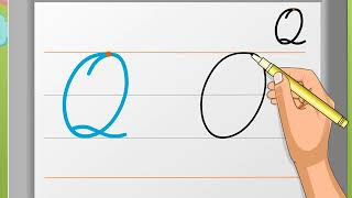 Cursive Writing | Capital Letter 'Q' | Macmillan Education India