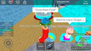 Baby Ollie & Ellie's happy life part 1 (ROBLOX)