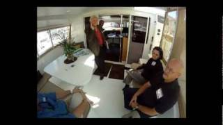 Fountaine Pajot Lipari 41 Catamaran tour by ABK Video