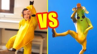 FORTNITE DANCE CHALLENGE in REAL LIFE: you vote! - our DEFI DANSE FORTNITE in the REAL LIFE