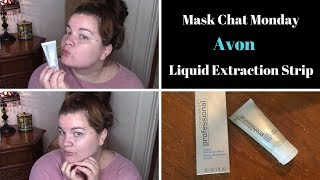 Mask Chat Monday Black Head Liquid Extraction Strip Youtube